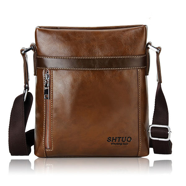 Men Casual Retro Crossbody Bag Business Sport Leisure Shoulder Bags