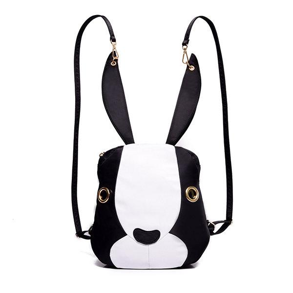 Cute Bags Lovely Cartoon Rabbit Bunny Nylon Shoulder Bags Backpack School Bags
