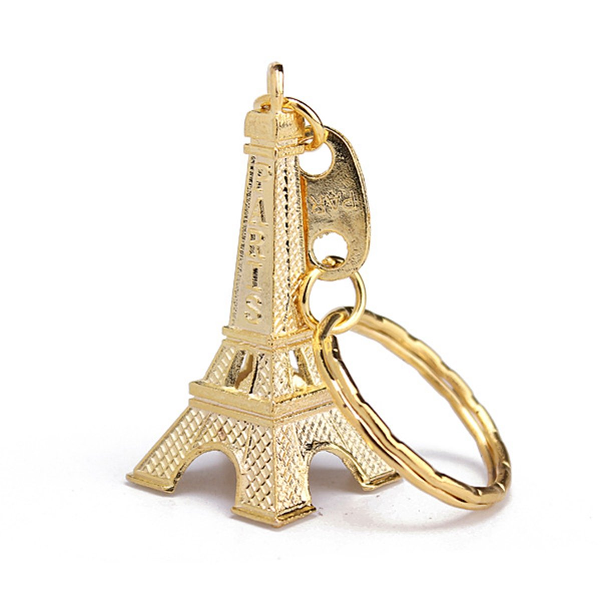 Eiffel Tower Metal Keychain
