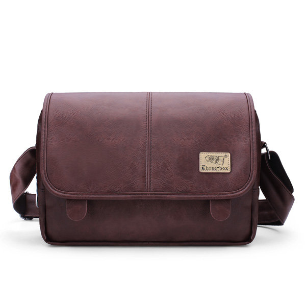 Men Casual Vintage Crossbody Bag Outdoor Sport Shoulder Bag