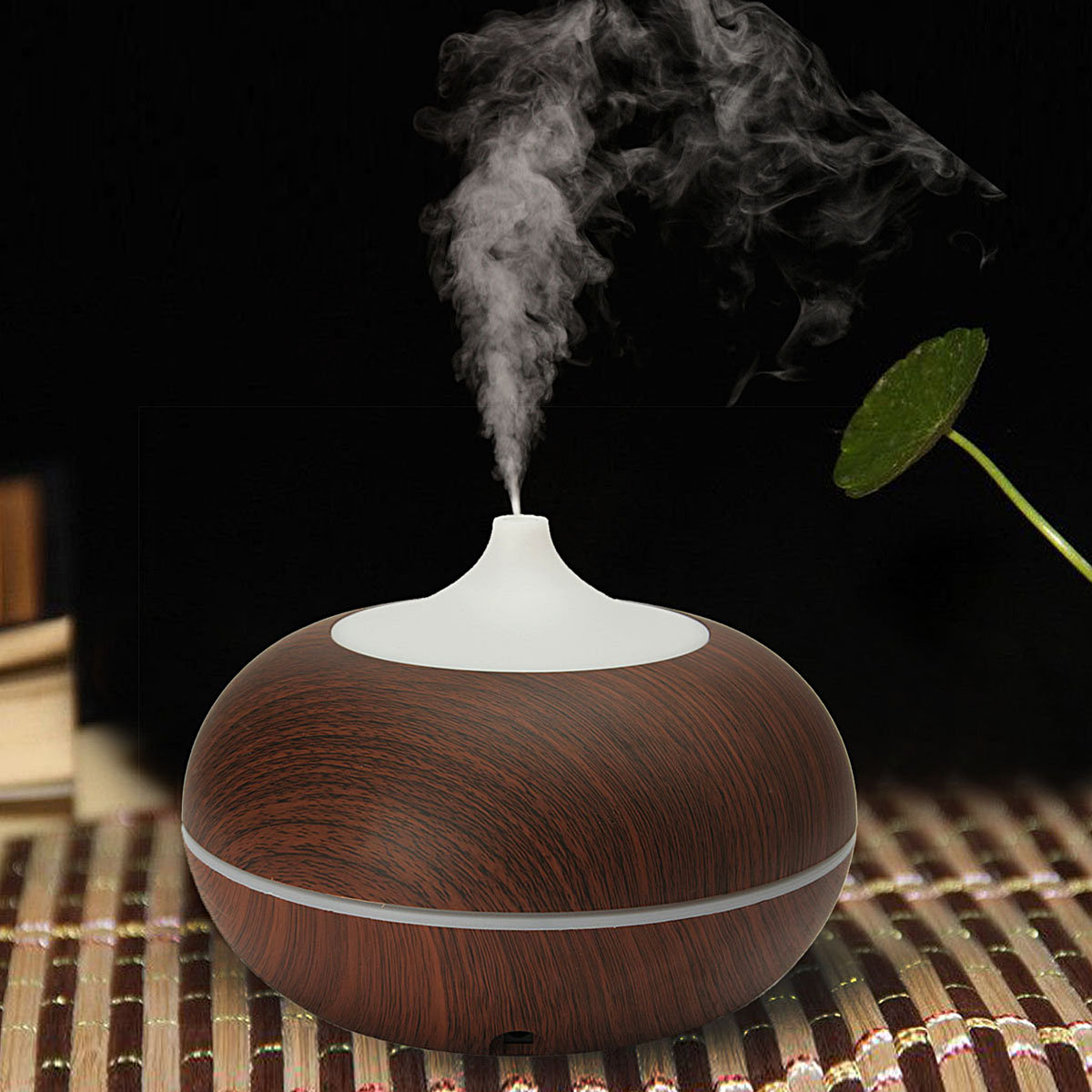 Ultrasonic Humidifier Color-changing LED Air Diffuser Essential Aroma Home Office