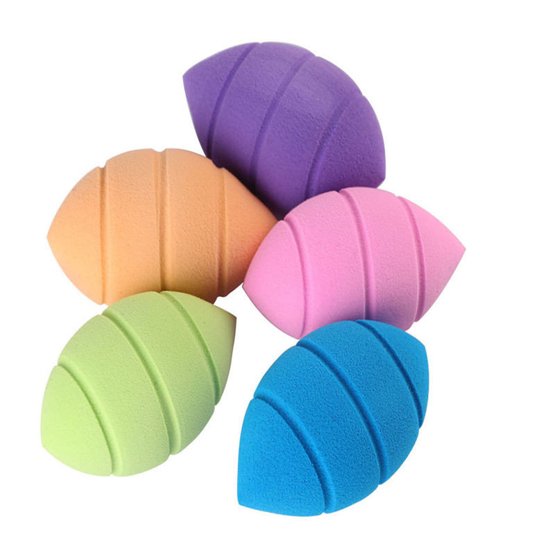 2Pcs/Pack Soft Miracle Complexion Non-latex Sponge Makeup Foundation Puff Flawless Blender