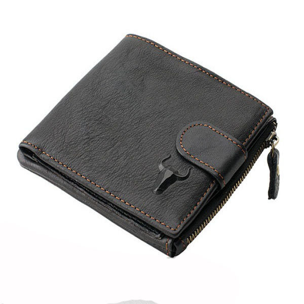 Men New Vintage Casual PU Leather Wallet