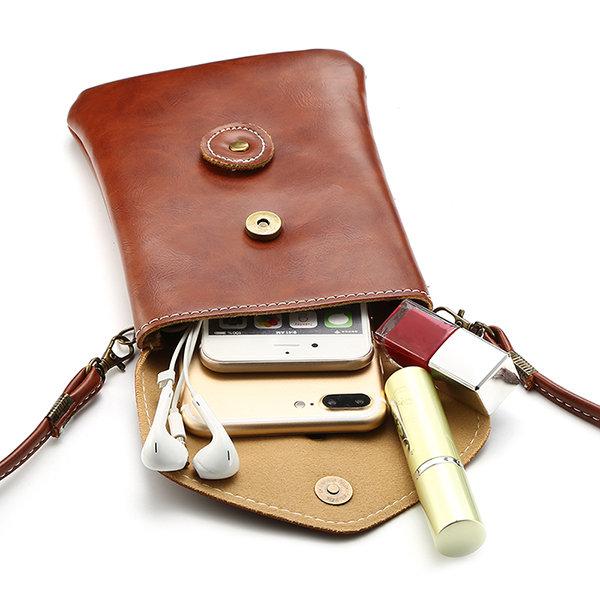 Женщины PU Crossbody сумка Конверт Сумка 6,0-дюймовый телефон кошелек для Iphone Samsung Xiaomi