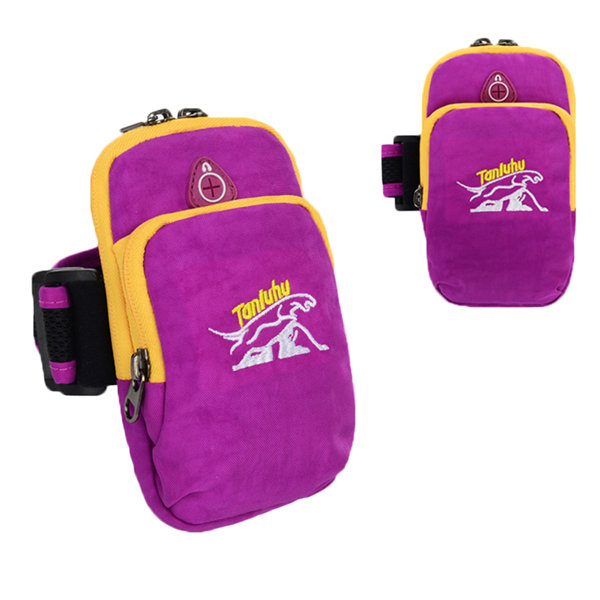 Women Casual Sport Outdoor Running Climbing Arm Wrist Bag Nylon Lightweight Crossbody Bag