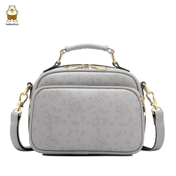 Girls Cartoon PU Floral Animal Crossbody Bag Shoulder Bag Handbag