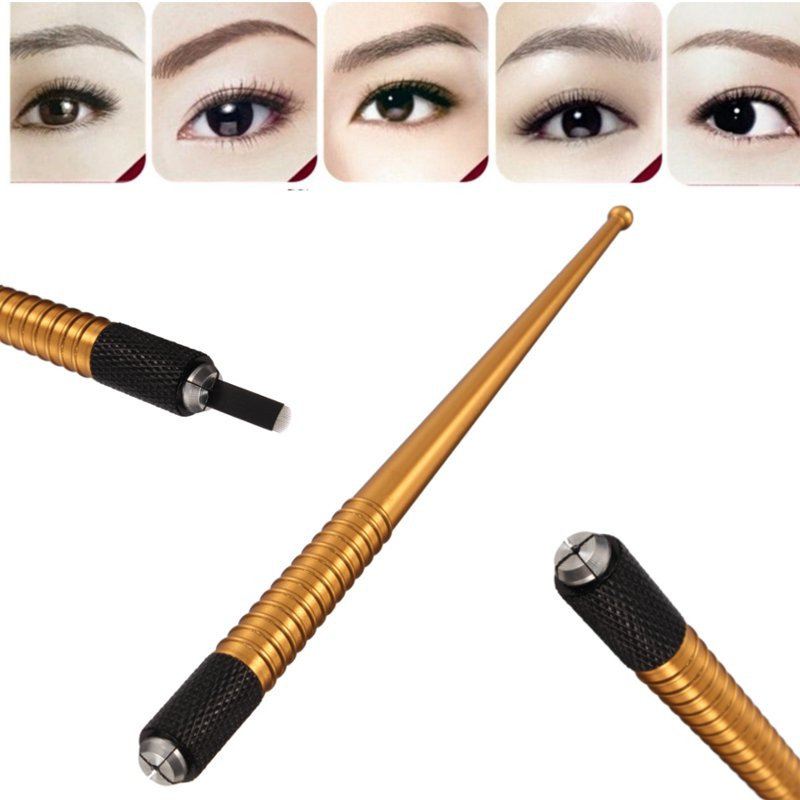 Manual Semi Permanent Eyebrow Tattoo Pen Embroidered Eyebrow Tattooing Machine