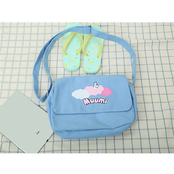 Lovely Cute Casual Canvas Cartoon Pattern Shoulder Bag Crossbody Bags
