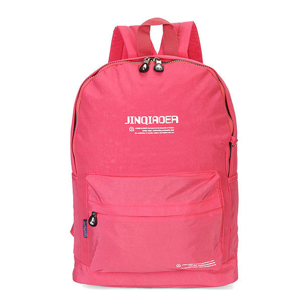 Women Nylon Casaul Travel Backpack