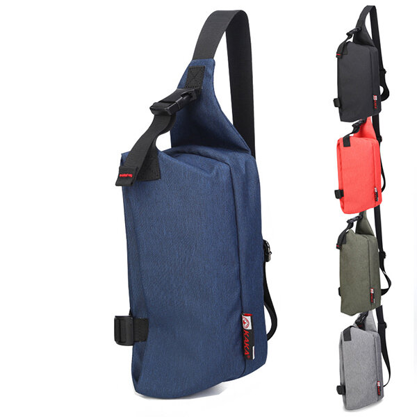 Men Casual Portable Chest Bag Travel Sports Shoulder Bags Crossbody Bags