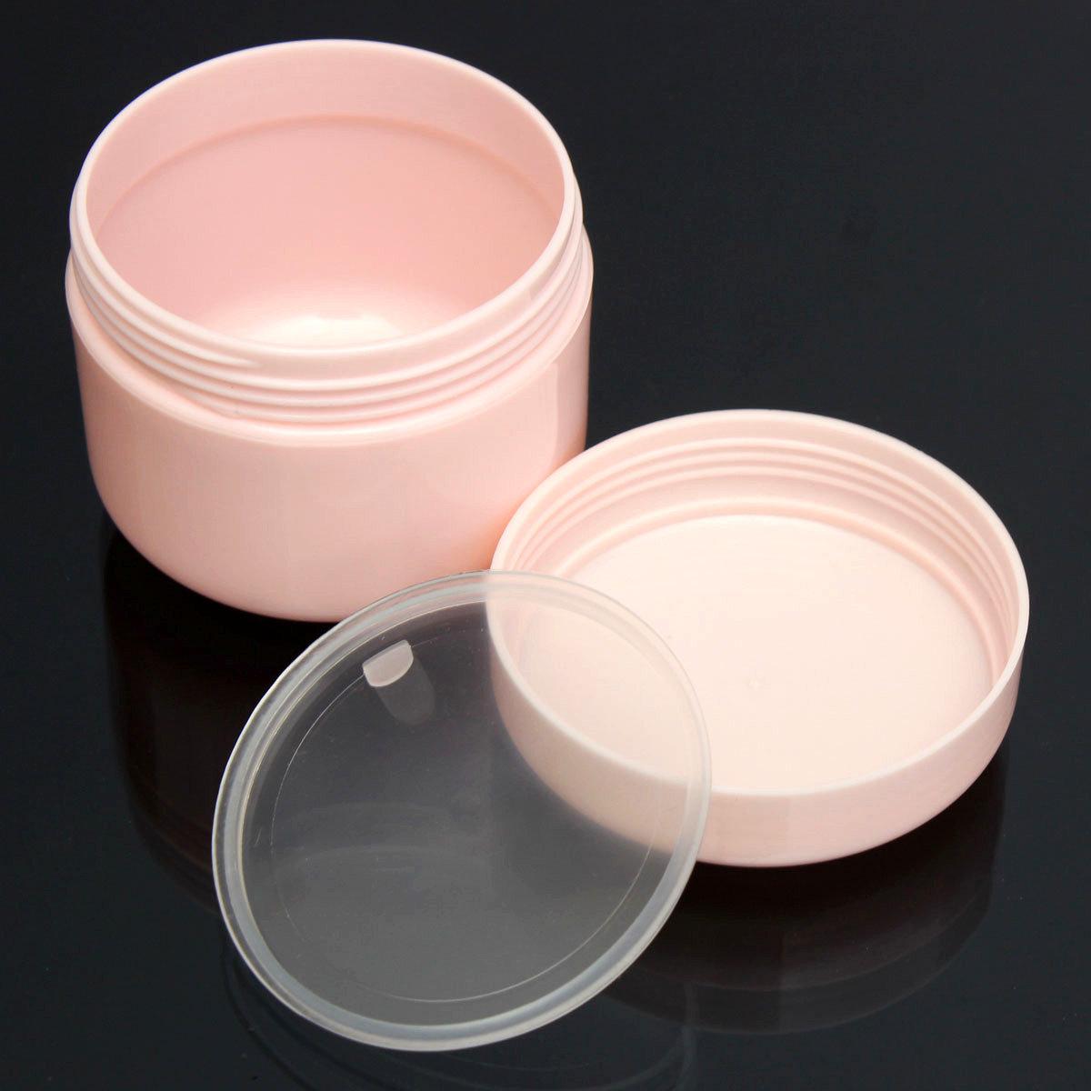 50ml Empty Facial Cream Container Lotion Pot Face Makeup Travel Pink