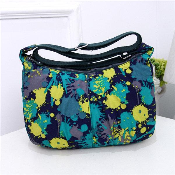 Women Casual Printing Nylon Dumlings Shoulder Bags Crossbody Bags