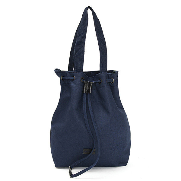 Women Canvas Drawstring Shoulder Bags Casual Tote Crossbody Bags
