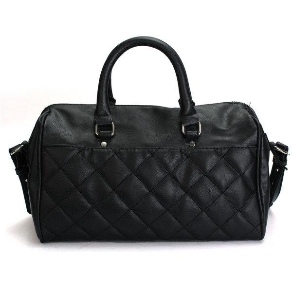 Женщины Алмазный решетки Боулинг Ковш сумки Повседневная сумка Корзина Crossbody