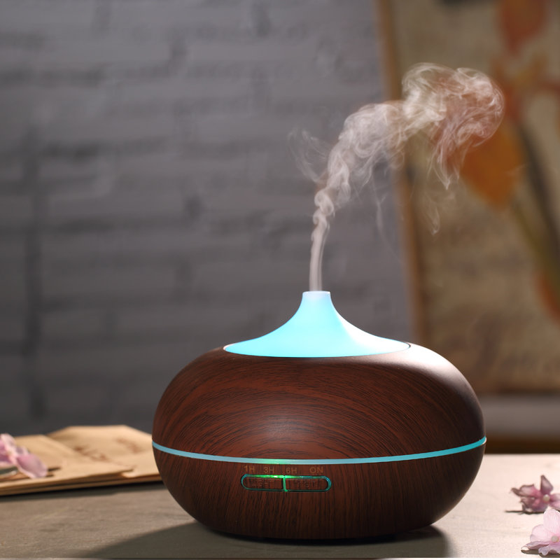 Ultrasonic Aroma Diffuser Air Aromatherapy Humidifier Purifier Essential Oil 2 Colors