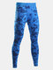Camo Quick Dry Sports Breathable Tights Gym Pants Bodybuilding Skinny Legging Trousers for Men