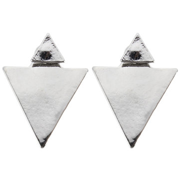 Punk Triangle Stud Earrings от Newchic.com INT
