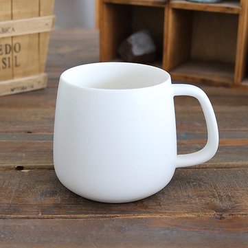 400ML Matte Ceramic Mug With White Interior Creative Couple Coffee Cups Drinkware Gift For Lover