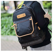 Men Polyester Casual Laptop Backpack Computer Student School Backpack