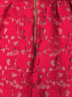 Evening Party Sexy Strap Lace Crochet V Neck Women Dress