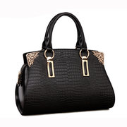 Women New Elegant Cow Leather Casual Handbag Shoulder Bag
