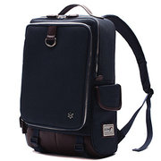 15inch Laptop Men Women Canvas Laptop Backpack Casual Student School Backpack