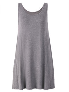 Summer Casual Women Sleevelss Pure Color Cotton Tank Top