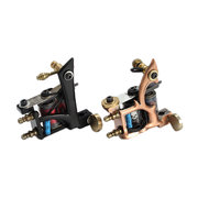 2 Tattoo Machines Kit 40 Colors Ink LCD Power Supply Equipments Professional Suit