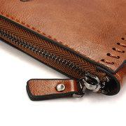 Men Microfibric Leather Business Portable Wallet