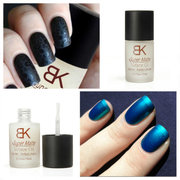 15ML Magic Super Matte Surface Oil Nail Polish Frosted Top Coat
