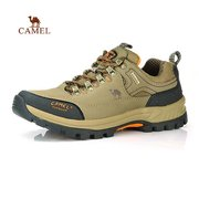 Camel Men Women Lover Anti Skip Breathable Color Match Lace Up Hiking Outdoor Sport Sneakers