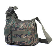 Men Oxford Tactical Camouflage Multifunctional Photography Climbing Shoulder Crossbody Bag