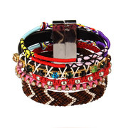 Multilayer Handmade Beads Magnetic Clasp Bracelet
