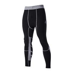Спорт Обучение Узкие брюки быстрое высыхание Упругие Cyclingpants облегающие брюки для мужчин