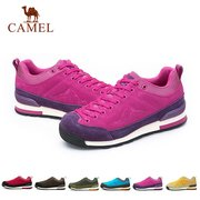 Camel Men Women Lover Shock Absorption Anti Skip Lace Up Outdoor Sport Hiking Shoes