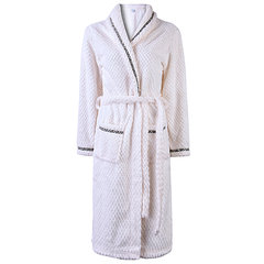 Sexy Thicken Keep Warm Loose Bathrobe Long Sleeve Nightgown For Women
