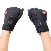 Men Woman Skiing Hiking Ride Camping Outdoor Winter Warm Windproof Fleece Gloves