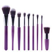 9Pcs/Set Professional Makeup Brushes 9 Colors Powder Foundation Blush Brush Cosmetic Tool