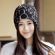 Autumn And Winter Scarves Letter Kerchief Hairband Cap Maternal Month Of Cap