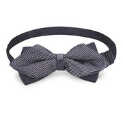 Male Formal Commercial Bow Tie The Groom Sharp Corner Polyester Wedding Accessories