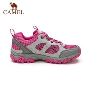 Camel Mesh Breathable Anti Skip Wearproof Shock Absorption Outdoor Sport Hiking Shoes
