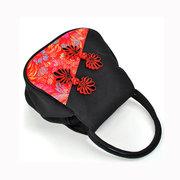 Женщины Китайский национальный стиль контрастного цвета тотализаторов сумки