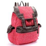 Women Denim Canvas Casual Outdoor Rucksack Backpack