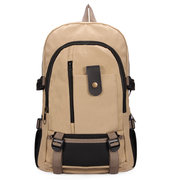 Men Schoolboy Durable Outdoor Bag Leisure Large Capacity Canvas Backpack