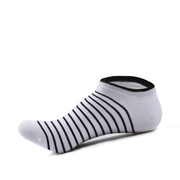 Casual Cotton Thin Solid Color Sweat Absorption Breathable Boat Socks For Men