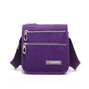 Женщины Нейлон Повседневный Легкие Multi-карман сумки на ремне сумки Crossbody