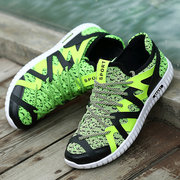 Men Sneakers Breathable Running Sport Shoes Lace UP Outsides Shoes