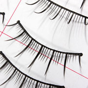 10 Pairs Black False Eyelashes Thin Soft Handmade Eye Lash 188