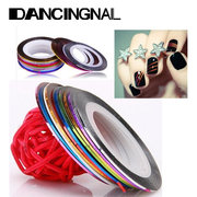 10 Colors Nails Striping Tape Line Nail Art Decoration Sticker