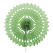 16'' 1pc Paper Wheel Fan Flower Pine wheel  Hollow Out Paper Wedding Party Decoration